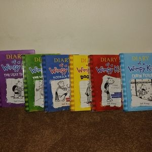 Other - 6 diary of a wimpy kid book set